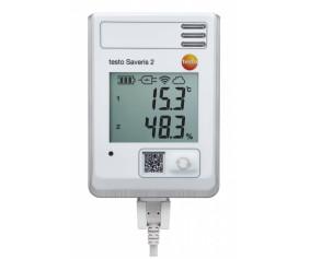 testo Saveris 2-H1 - WiFi-логгер данных с дисплеем и встроенным сенсором температуры/влажности