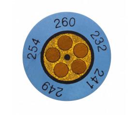 Круглые термоиндикаторы testoterm - измерительный диапазон +60 … +82 °C