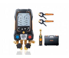 testo557s Комплект 1 - Умный цифровой манометрический коллектор и беспроводные зонды вакуума и температуры