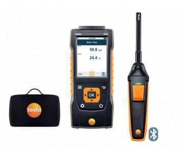 testo 440 Комплект влажности с Bluetooth® - testo 440 Комплект влажности с Bluetooth®