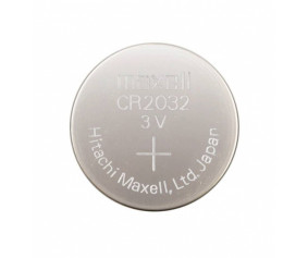 Lithium battery, button cell, type CR 2032