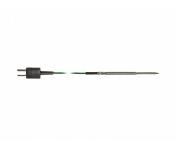 Проникающий зонд с ленточным кабелем (2 м), т/п типа K