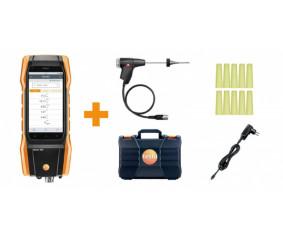 Комплект testo 300, СО с Н2-компенсацией - Анализатор дымовых газов (O2, CO с H2-компенсацией до 8000 ppm)