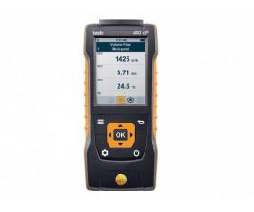 testo 440 dP - Прибор для измерения скорости и оценки качества воздуха в помещении со встроенным сенсором дифференциального давления