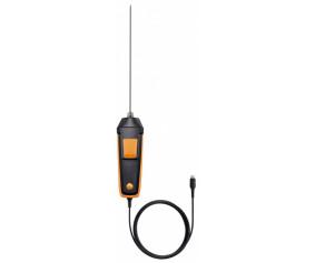 Прочный зонд температуры воздуха с высоким быстродействием (Pt100) - Прочный зонд температуры воздуха с высоким быстродействием (Pt100)